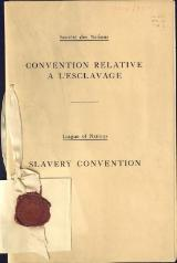 Société des Nations Convention relative à l'esclavage 1926.djvu
