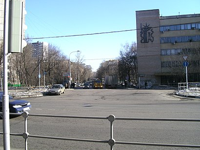 How to get to Солнечногорская Улица with public transit - About the place