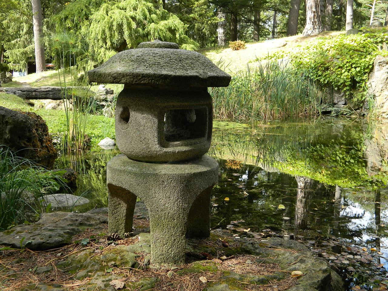 File Sonnenberg Gardens And Mansion State Historic Park Japanese Garden Stone Lantern Jpg