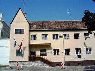 Sopronkőhida - Sopronkőhida prison entrance
