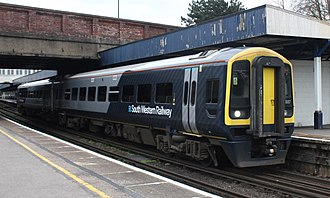 British Rail Class 158 - South Western Railway Class 158 at Southampton Central