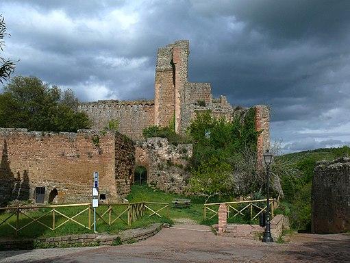 Rocca Aldobrandesca, Sovana