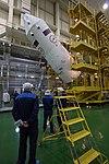 Soyuz MS-08 spacecraft in the integration facility (6).jpg
