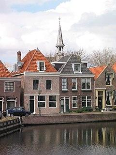 Spaarndam village in North Holland, the Netherlands