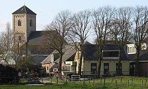 Spaarnwoude - Spaarnwoude village