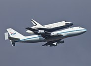 Space Shuttle Enterprise over NYC-1