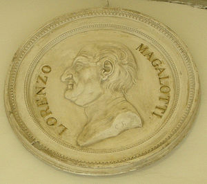 Lorenzo Magalotti - Commemorative medal of Lorenzo Magalotti.