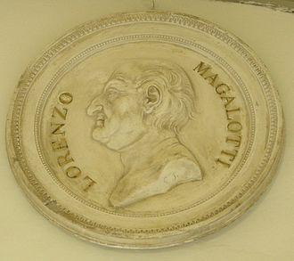Lorenzo Magalotti - Commemorative medal of Lorenzo Magalotti.