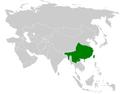 Spizixos distribution map.png
