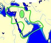 Spread of Oecumene Mesopotamia