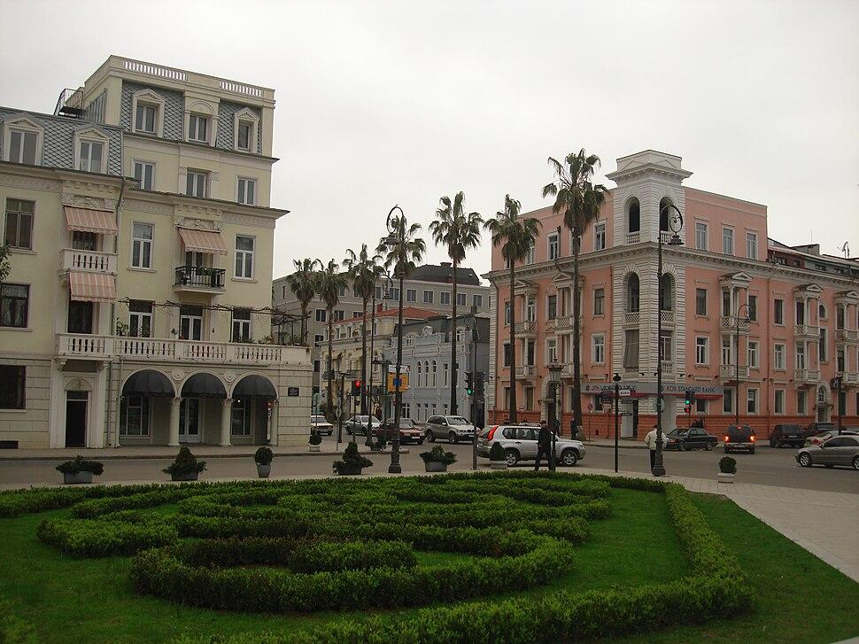 Square in Batumi