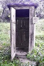 Squat outhouse cm01