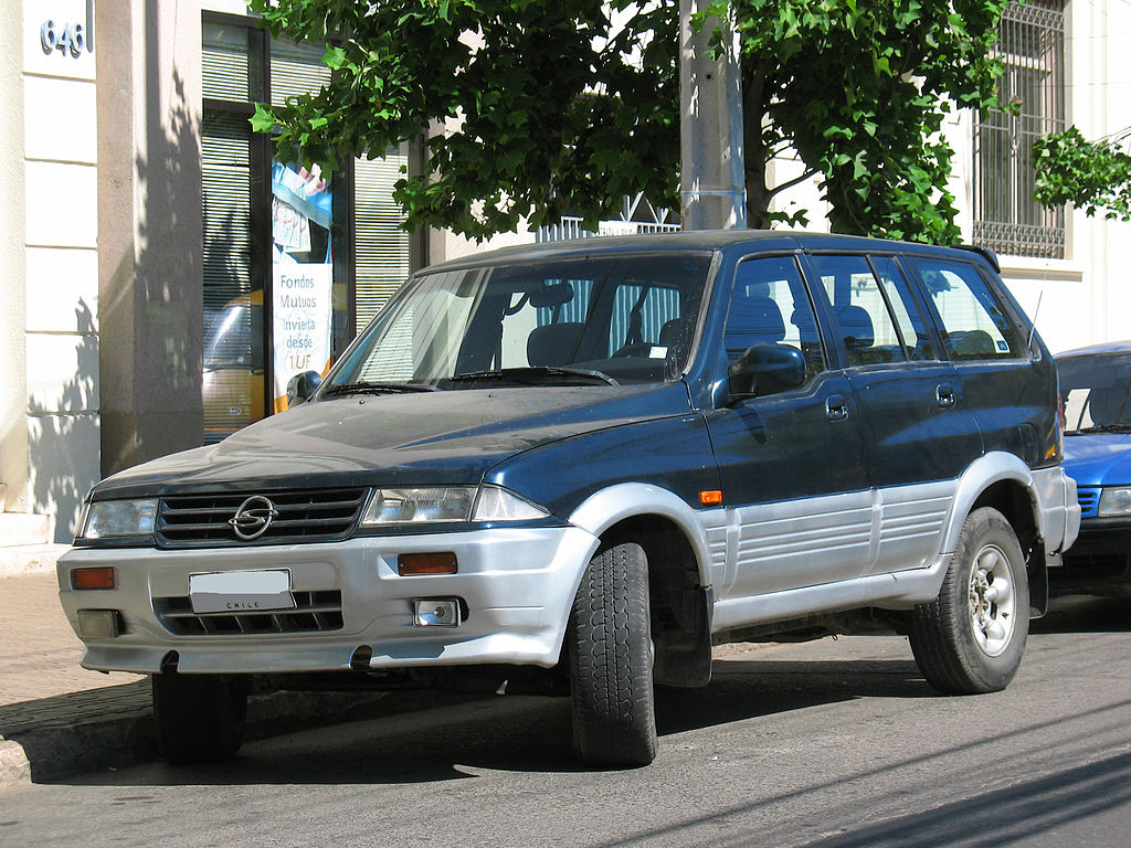 SsangYong Musso SUV (FJ)