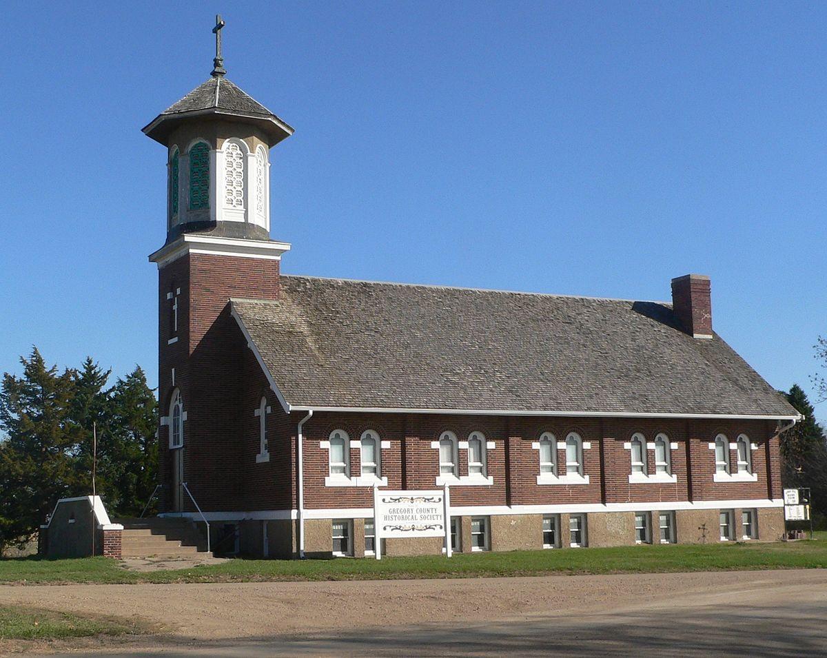 st augustine church dallas south dakota wikipedia. Black Bedroom Furniture Sets. Home Design Ideas