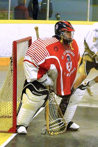 St. Catharines Spartans - Spartans goalie in 2014.