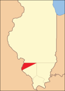 St. Clair County Illinois 1812
