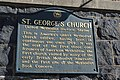 St. George's Church United Methodist Historic Shrine historical marker.jpg