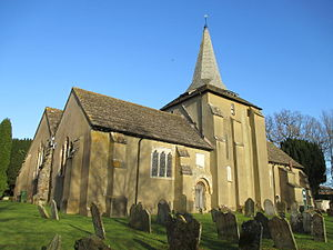 West Grinstead - Image: St. George's church, West Grinstead
