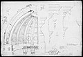St. Peter's, dome and drum, interior section and elevation, and labeled details (recto); St. Peter's, moulding profiles, details (verso) MET MM31570.jpg
