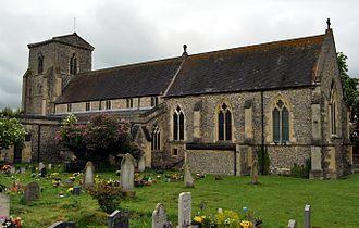 John de Hotham - St Andrew's parish church in Chinnor, Oxfordshire, where John de Hothan was buried.