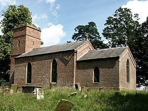 Ashby by Partney - Image: St Helen, Ashby by Partney geograph.org.uk 425746