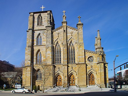 St. Joseph Cathedral, seat of the Roman Catholic Diocese of Columbus St Joseph Cathedral 01.jpg