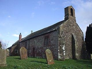 Gilcrux Human settlement in England
