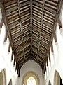 St Mary's church - archbraced nave roof with angels - geograph.org.uk - 1545186.jpg