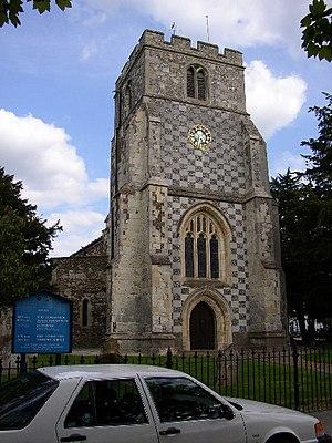 Barton-le-Clay - Image: St Nicholas's Church, Barton in the Clay geograph.org.uk 86211