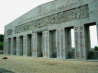 War memorials (Aisne) - A view of the war memorial