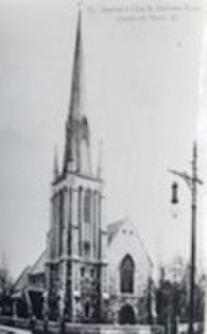 St Stephen's Church, Shepherd's Bush - St Stephen's Church Shepherd's Bush, London, c1904