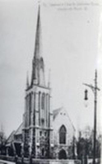 St Stephen's Church, Shepherd's Bush - St Stephen's Church Shepherd's Bush, London, c1904