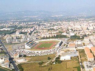 Lo stadio Luigi Pastena