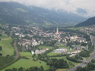 Rottenmann Place in Styria, Austria