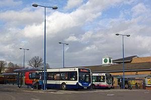 Mosborough (ward) - Crystal Peaks bus station in March 2008