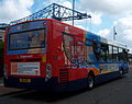 Stagecoach in South Shields bus 27740 (NK11 BGY) 2011 Alexander Dennis Enviro300 integral, 2012 Teeside Running Day (2).jpg