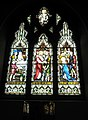 Stained glass window on the south wall at St Mary's, Alverstoke (3) - geograph.org.uk - 1424918.jpg