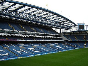 Stamford Bridge Stadium, Fulham. Home to Chels...