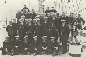 USCGC Eagle (WIX-327) - German skeleton crew in 1937
