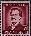Stamp 1939 Mihai Eminescu 7L.jpg