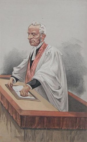 "Arthur Stanley (priest) - A caricature of Stanley in Vanity Fair, 1872. The caption was ""Philosophic Belief""."