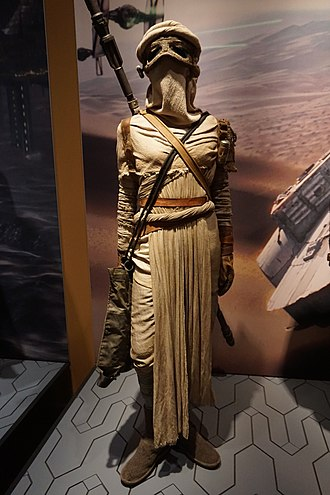 Rey (Star Wars) - Rey's costume from Episode VII