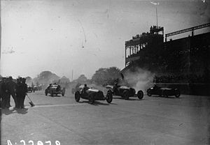 1931 French Grand Prix - Start of the race