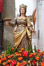 Statua lignea 1700