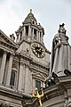 Statue of Queen Anne in front of St.Pauls Cathedral, London, UK KW (15726671262).jpg