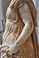Statue of a woman (1st cent. B.C.) at the National Archaeological Museum of Athens on 4 July 2018.jpg
