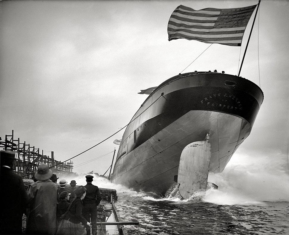 Steamer Frank J. Hecker