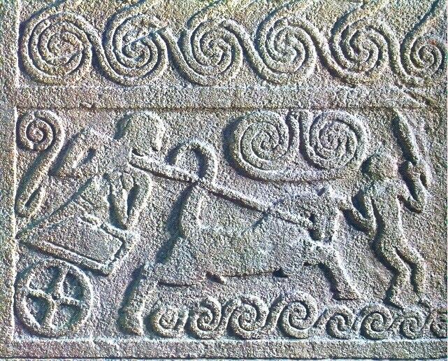 Stele of Grave Circle A Mycenae