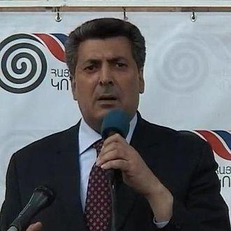 2003 Armenian presidential election - Image: Stepan Demirchyan cropped