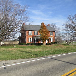 Stevenson Peters House building in Ohio, United States
